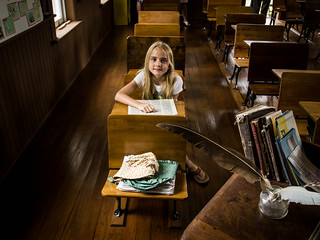 Avery at the Linn Schoolhouse | by toddwendy