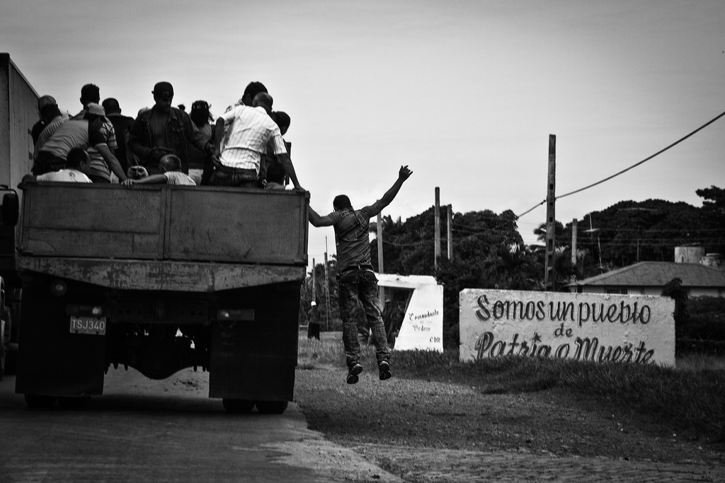 Bus stop: Patria o Muerte