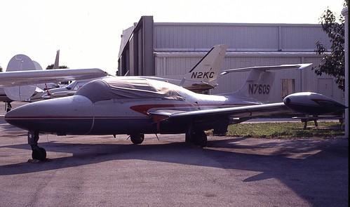 N760S ParisJet SN 043 FL EX 14-02-1991 | by pete thorns