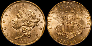 The World Record Setting $1.65 Million Dollar 1861 Paquet $20.00 | by RareGoldCoins.com