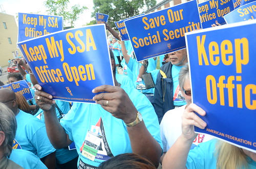 Rally at Minneapolis Social Security Office | by AFGE