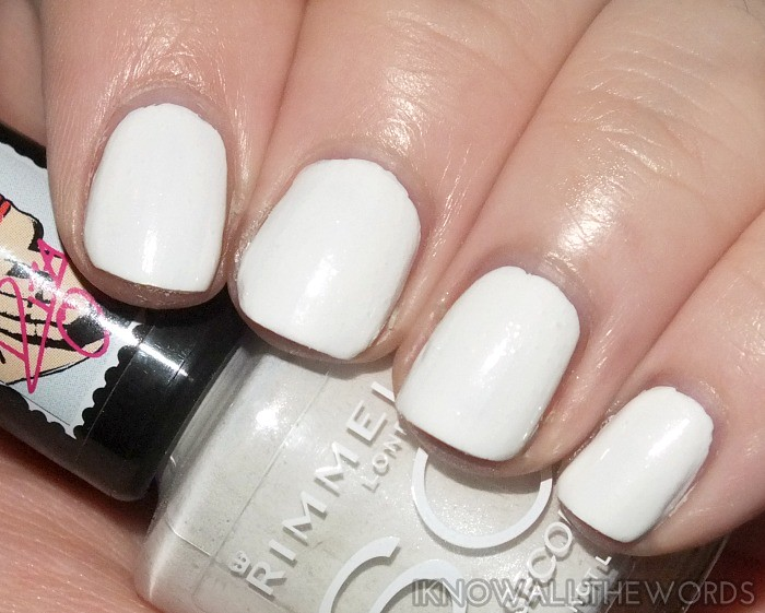 be03198d482 ... rimmel 60 second nail polish x rita ora- white hot love | by  all_the_words