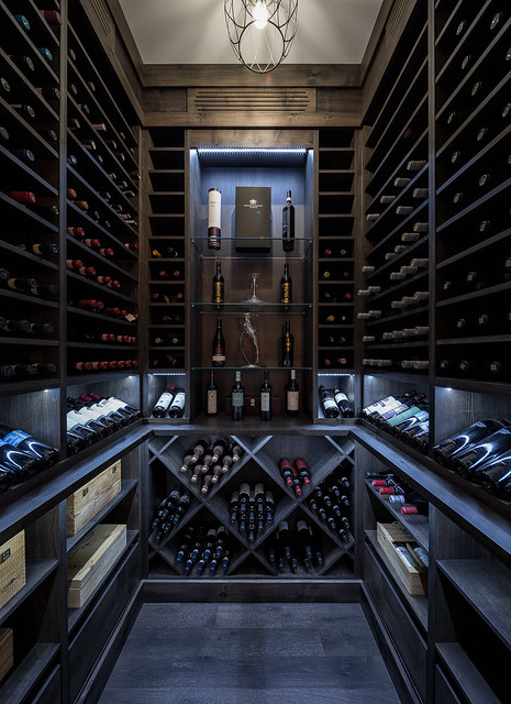 Wine Cellar by Capital Cellars for Our Homes Magazine