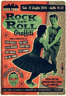 ROCK AND ROLL GRAFFITI @ ROCK TOWN -