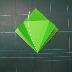 วิธีพับกระดาษเป็นรูปหอยทาก (origami Snail) 003