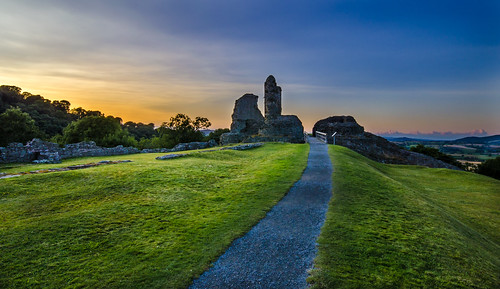 castle wales ruins unitedkingdom montgomery powys