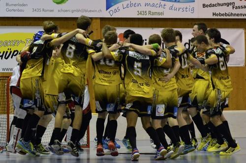 Junioren U21 - UHT Schüpbach Saison 2013/14