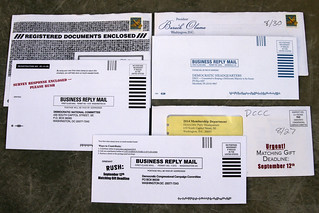 DNC junk mail | by Judith E. Bell
