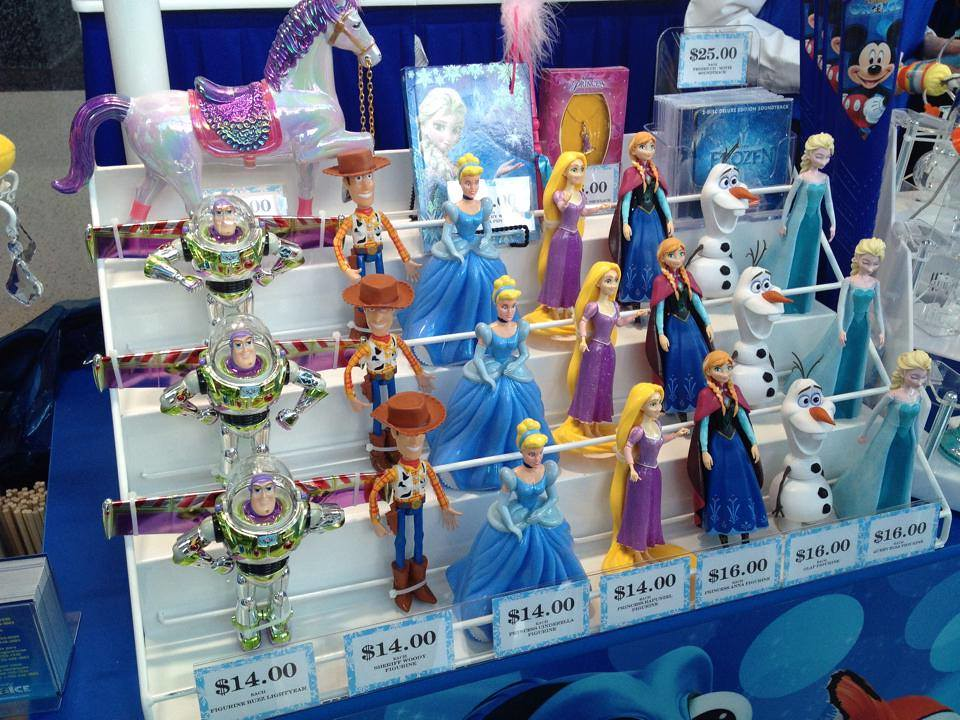 Frozen Merchandise At Disney On Ice Inside The Magic