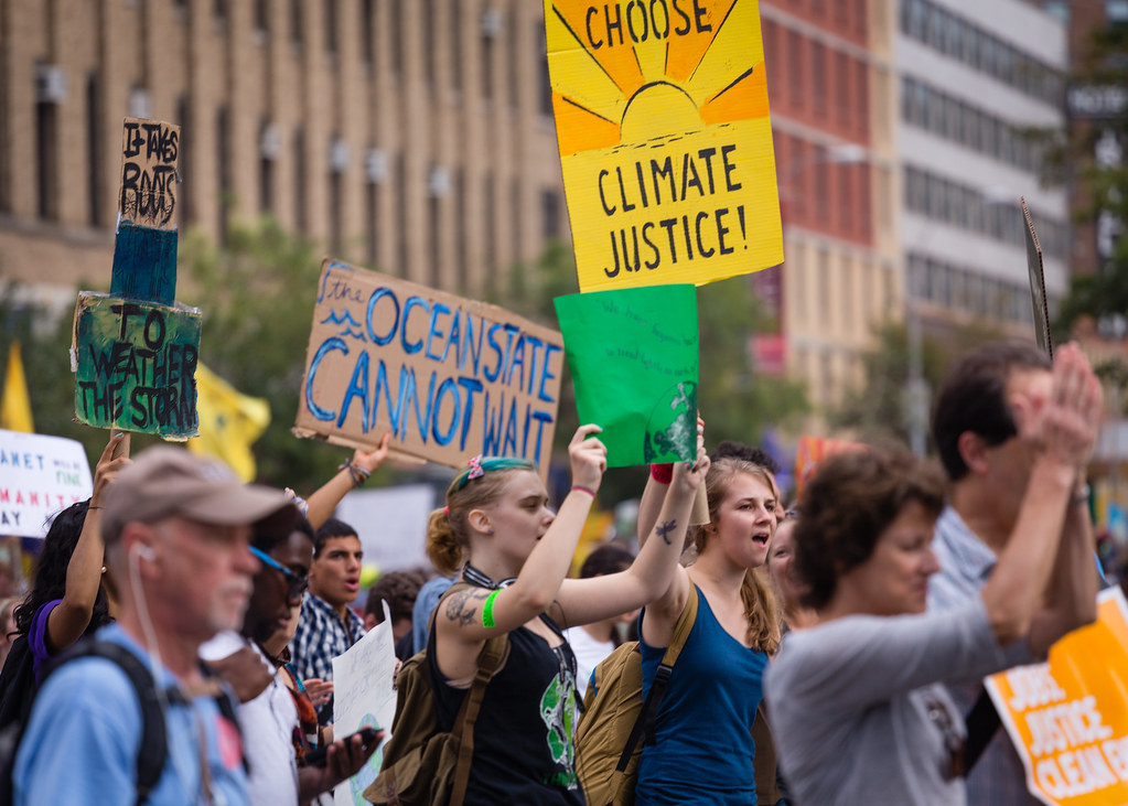 photo of climate march