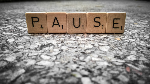 Pause? 272/365 | by Skley