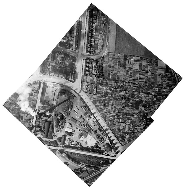 Aerial Photograph | Brighton | Upper Hollingdean Road | Hollingdean Depot | c.1918