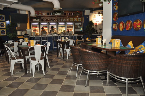 THE BEER CAFE, HAUZ KHAS VILLAGE, DELHI