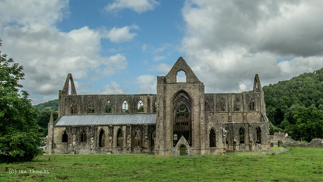 Structural Beauty Of Tintern Abbey