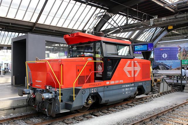 SBB Ee 922 018-7 Zürich Hbf
