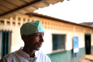 A portrait of an Ebola survivor, Dr. Thierno Sadoli | by World Bank Photo Collection