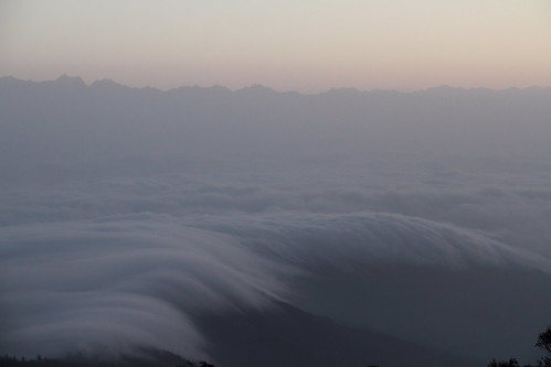 morning sky cloud india mountain montagne ciel himalaya nuage darjeeling inde matin
