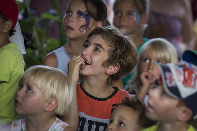 Strahlende Gesichter_Konzert_Sommerfest 2015_Stiftung Kinderdorf Pestalozzi_Fotograf Peter Käser