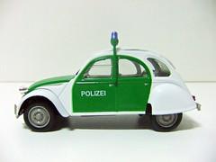 """CITROËN 2CV 6 """"Polizei"""" - NOREV"""