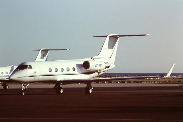 8P-GAC Gulfstream III 355 NCE 1997