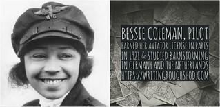BESSIE COLEMAN #100travelHERS | by sandrakaybee