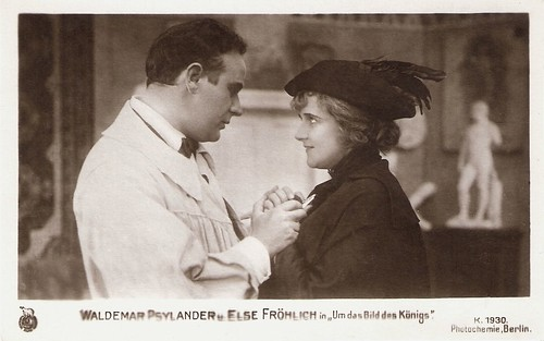 Valdemar Psilander and Else Fröhlich in Rytterstatuen (1919)