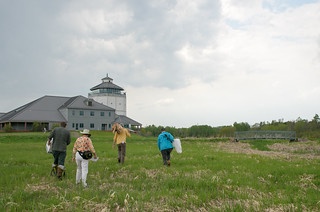 Bug Sampling at Great Lakes Visitor center   by Andrea Pokrzywinski