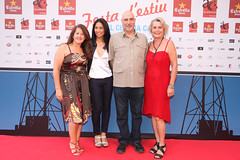 Mercè Espelleta, Vanesa Castro, Josep Oriach, Chus Leina