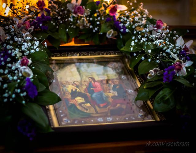 Вербное воскресение 2014