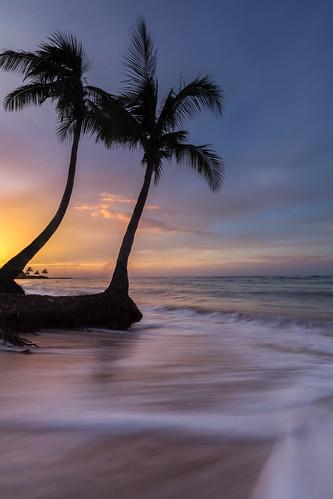ocean blue sunset seascape beach water vertical clouds landscape sand jamaica saintjamesparish canon5dmiii stbransburg