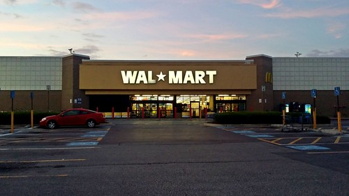 schuminweb ben schumin web june 2014 retail retailers retailing westminster carroll county maryland md walmart wal mart store stores shopping sunrise early morning discount discounter discounters