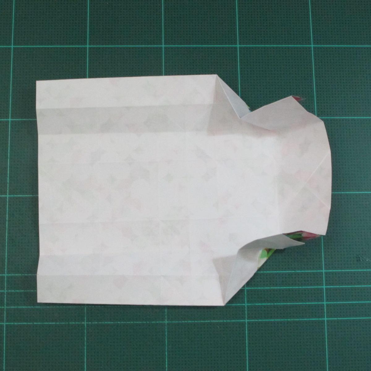 วิธีพับกล่องของขวัญแบบมีฝาปิด (Origami Present Box With Lid) 018