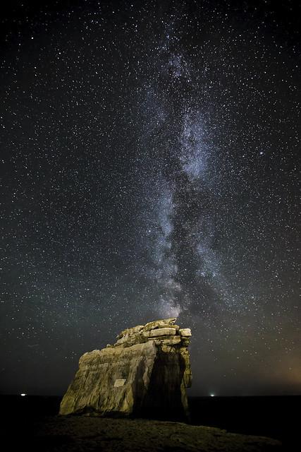 Milky Way Over Pulpit Rock