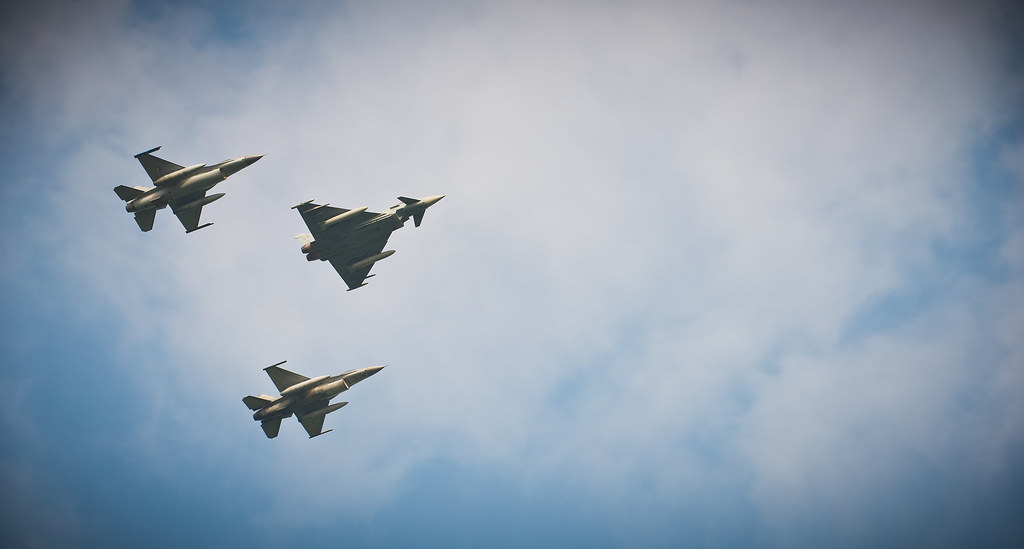 Nato Summit: Military flypast, From CreativeCommonsPhoto