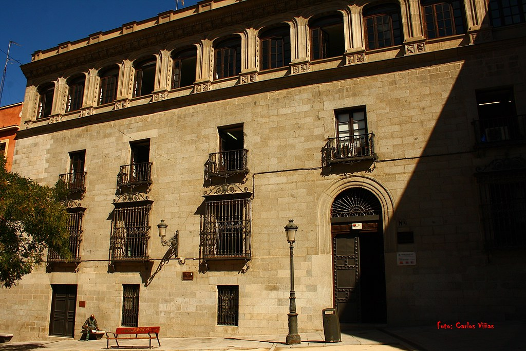 Palacio De Los Vargas Plaza De La Paja Madrid Madrid Bien Visto