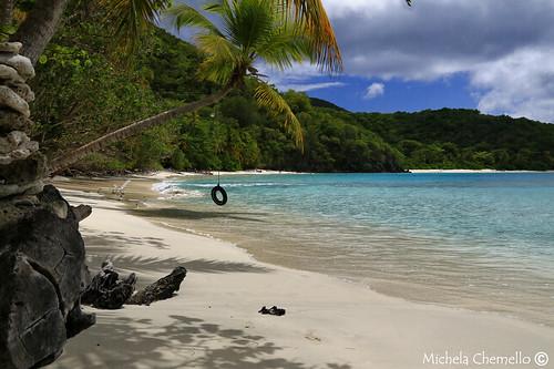 sea sky seascape verde beach water clouds canon palms eos holidays paradise nuvole mare stjohn cielo sands acqua azzurro colori palme viaggio vacanza michela paradiso sabbia ruota 6d caraibi vegetazione gibney meraviglia usvirginisland chemello
