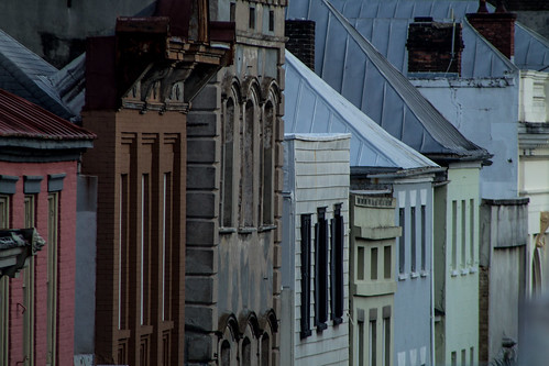 homes roof southcarolina facades charleston deck telephoto
