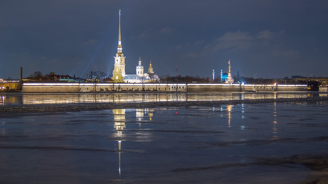 The Peter and Paul Fortress, St. Petersburg