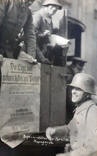 "Postcard entitled ""Anti-Revolution Propaganda"", Berlin [1920]"
