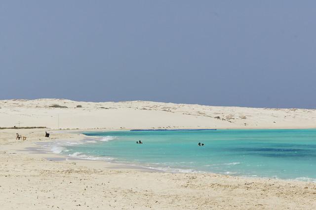 A beach in Egypt's Sidi Abdel Rahman