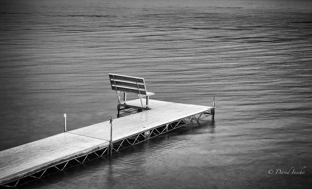 Sometimes it rains at the lake