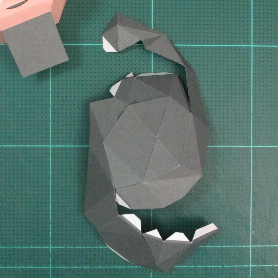 วิธีทำของเล่นโมเดลกระดาษซุปเปอร์แมน (Chibi Superman  Papercraft Model) 013