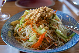 Green Papaya Salad at The Slanted Door (San Francisco) | by claramichelle