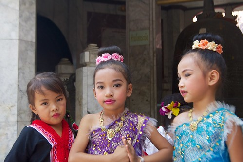 Hill Tribe Girls in Chiang Mai,Thailand | by kimtetsu