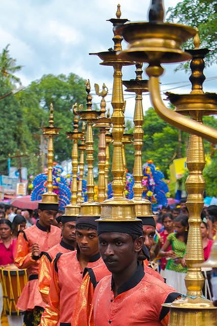 Athachamayam at Tripponithura.