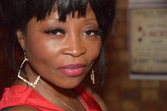 DSC_0062 Rita from Angola Out on the Town Beautiful Portrait at Charlie Wright's Music Lounge Shoreditch London