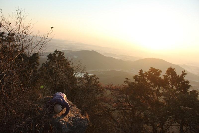 古賀志山 初日の出登山