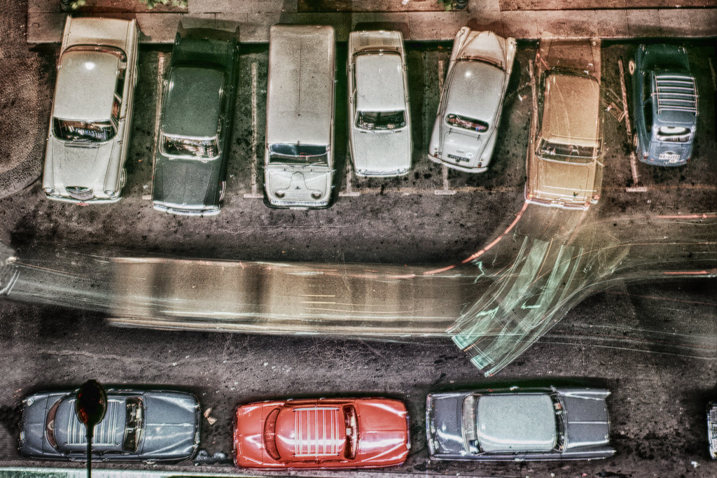 Cars HDR 1960s by Erik Lind