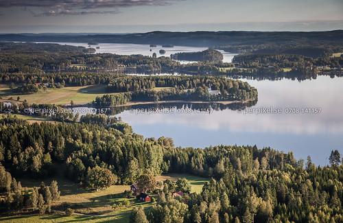 3 4 sverige kyrka swe västragötaland bengtsfors flygfoto gunnarsbyn fårenäs ärtemark