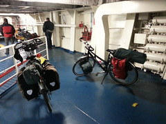 aboard the ferry from IJmuiden to Newcastle